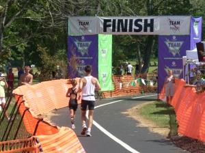 The First Triathlon Finish!